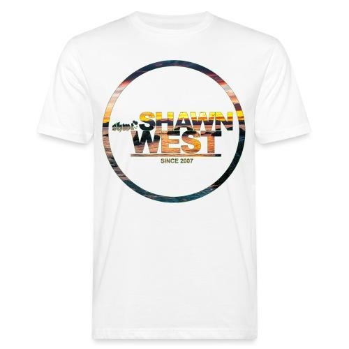 SHAWN WEST BEACH SUN DOWN - Männer Bio-T-Shirt