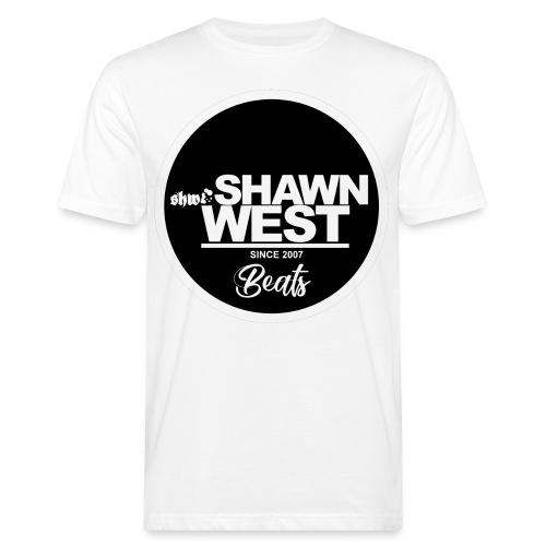 SHAWN WEST BUTTON - Männer Bio-T-Shirt