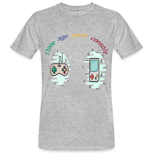 Retro Gaming Tribute - Männer Bio-T-Shirt