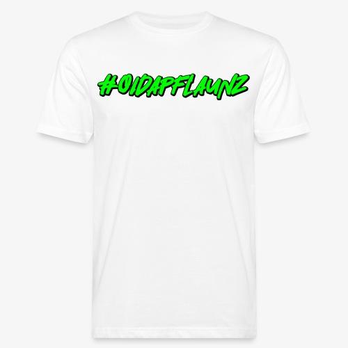 #oidapflaunz Klimakrise fridays for future demo - Männer Bio-T-Shirt