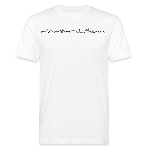 pankow_schwarz_2pt_5 - Männer Bio-T-Shirt