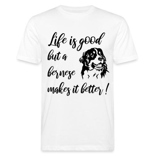 Bernese mountain dog - Mannen Bio-T-shirt