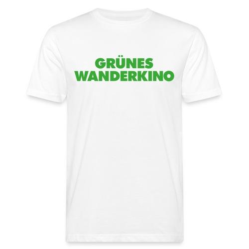 GRÜNES WANDERKINO grün - Männer Bio-T-Shirt
