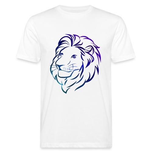 Leeuw Blauw - Mannen Bio-T-shirt