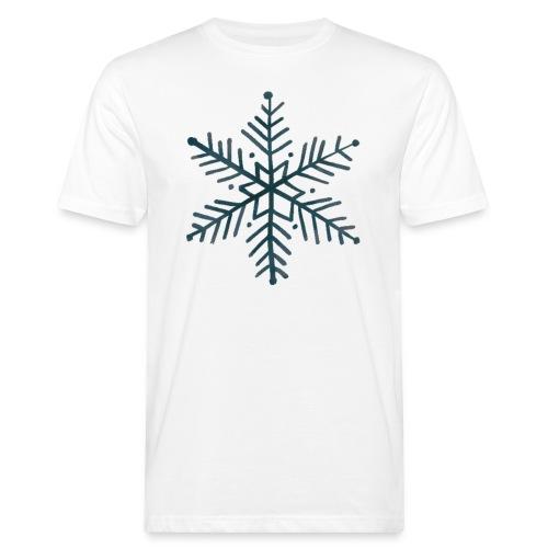 flocon de neige noir - T-shirt bio Homme