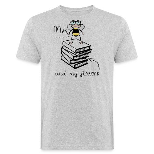 Bees1-2 Ich und meine Blumen | save the bees - Men's Organic T-Shirt