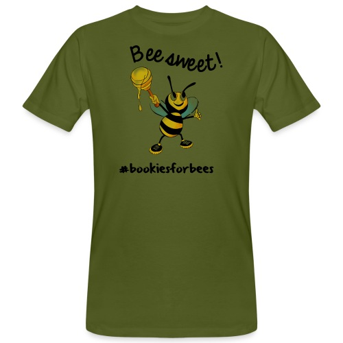Bees7-1 Bienen sind süß | save the bees - Men's Organic T-Shirt