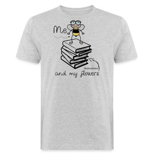 Bees1-1 Ich und meine Blumen | save the bees - Men's Organic T-Shirt
