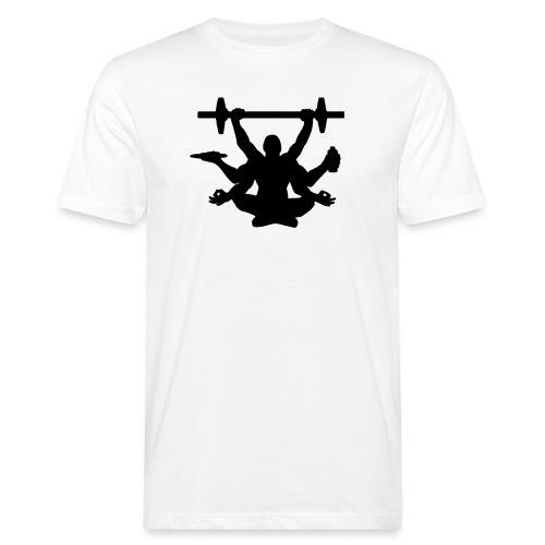Focus training - Miesten luonnonmukainen t-paita