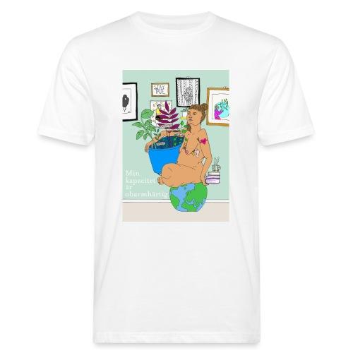 Min kapacitet är obarmhärtig - Ekologisk T-shirt herr