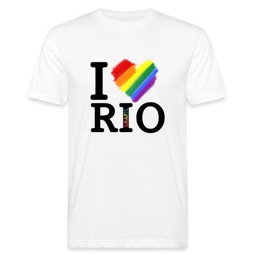 I love Rio - Camiseta ecológica hombre