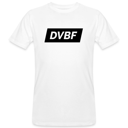 DVBF Svart - Ekologisk T-shirt herr