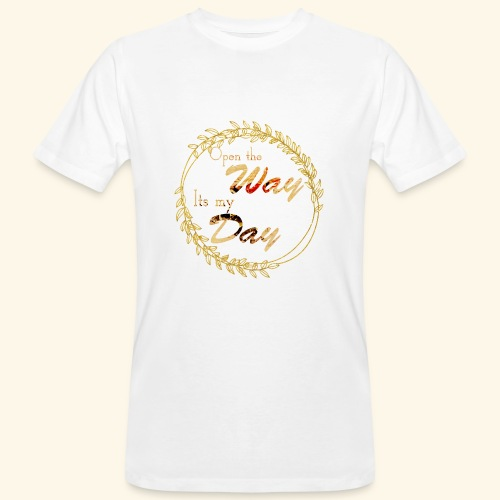 its my day weddingcontest - Men's Organic T-Shirt