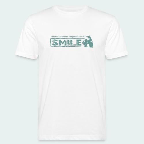 SMILE-Shirt 2018 - Männer Bio-T-Shirt
