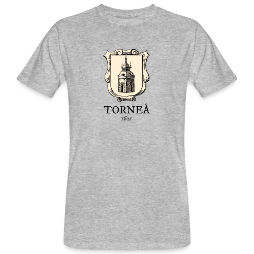 Torneå 1621 - Miesten luonnonmukainen t-paita