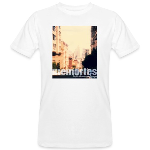 MEMORIES of SAN FRANCISCO - Männer Bio-T-Shirt