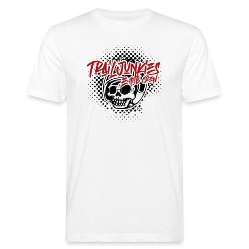 Trailjunkies Graffiti SR - Männer Bio-T-Shirt