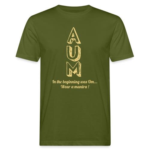 AUM - T-shirt ecologica da uomo