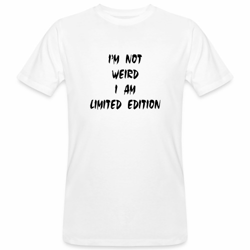 I Am Limited Edition - Men's Organic T-Shirt