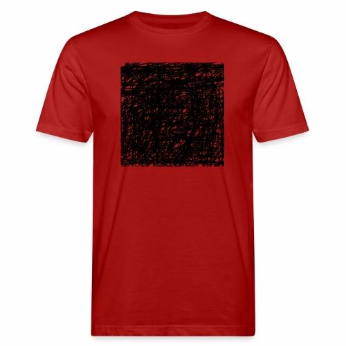 Kritzel-Design - Männer Bio-T-Shirt