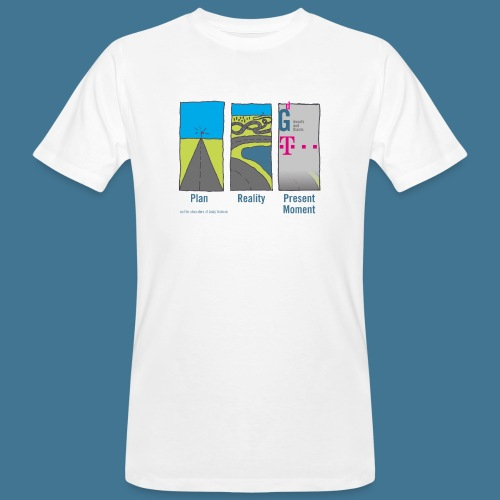 Wege telekom - Männer Bio-T-Shirt