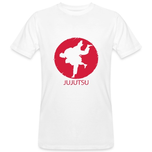 JuJutsu Glitch - Männer Bio-T-Shirt