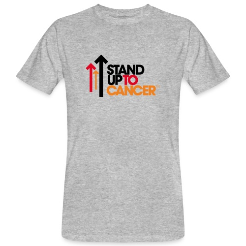 stand up to cancer logo - Men's Organic T-Shirt