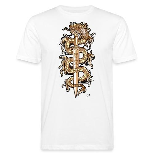 spada infuocata - T-shirt ecologica da uomo