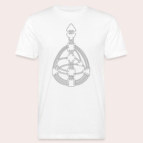 Körpergrafik - Männer Bio-T-Shirt