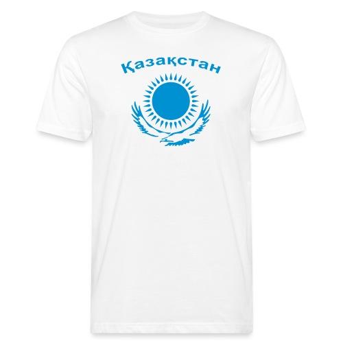 Kasachstan 1-farbig - Männer Bio-T-Shirt