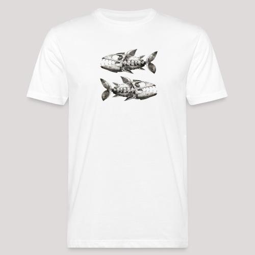 FishEtching - Men's Organic T-Shirt