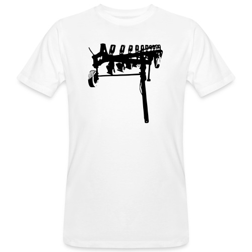 trailed plow - Men's Organic T-Shirt