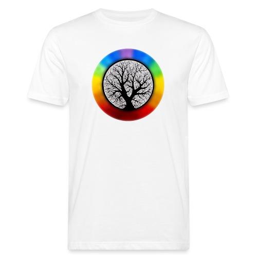 tree of life png - Mannen Bio-T-shirt