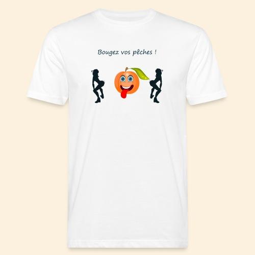 Bougez vos pêches ! - T-shirt bio Homme