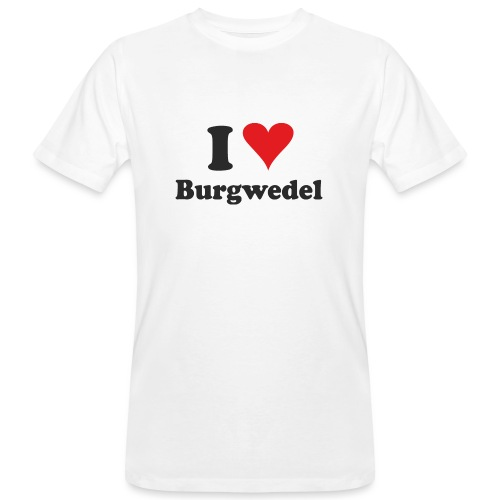 I Love Burgwedel - Männer Bio-T-Shirt