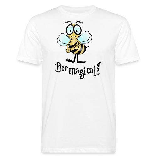 Bees10-2 Bienen sind magisch | save the bees - Men's Organic T-Shirt