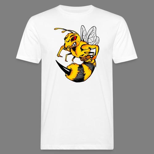 Wespe - Männer Bio-T-Shirt