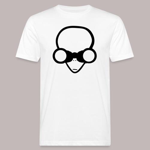 Peeper Alien - Männer Bio-T-Shirt