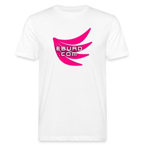 EBURD LOGO GROSS - Männer Bio-T-Shirt