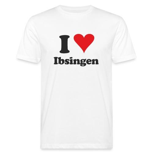 I Love Ibsingen - Männer Bio-T-Shirt