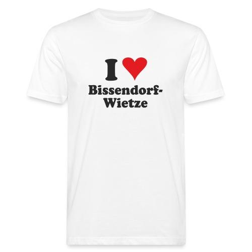 I Love Bissendorf-Wietze - Männer Bio-T-Shirt