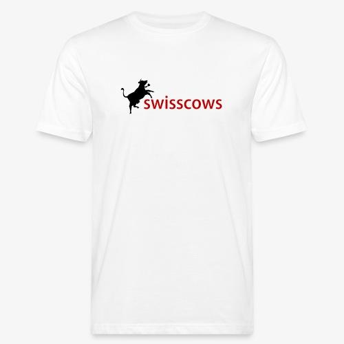 Swisscows Logo - Männer Bio-T-Shirt