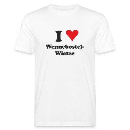 I Love Wennebostel-Wietze - Männer Bio-T-Shirt