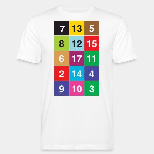 13 Nuancen von Zürich KIDS - Männer Bio-T-Shirt