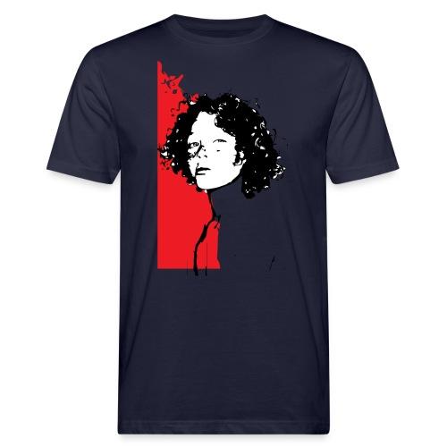 L'enfant rouge représente la terre rouge d'Afrique - T-shirt bio Homme