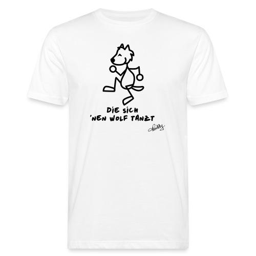 Die sich nen Wolf tanzt - Männer Bio-T-Shirt
