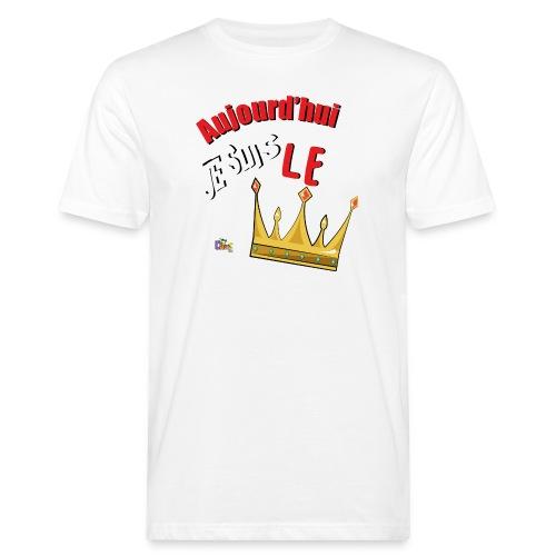 Anniversaire Roi rouge - T-shirt bio Homme