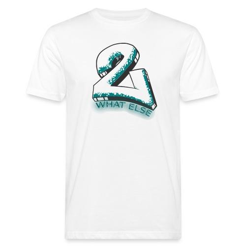 77 what else - Männer Bio-T-Shirt