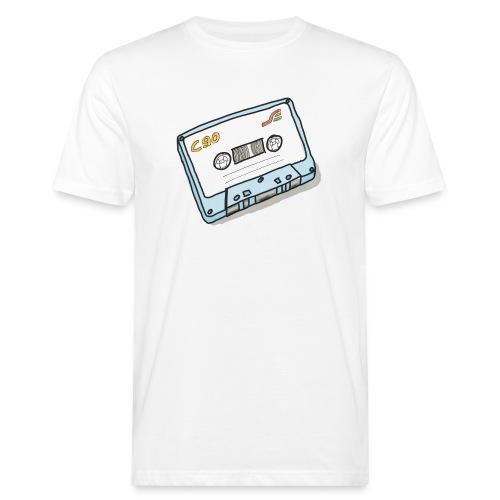 Cassette - Männer Bio-T-Shirt