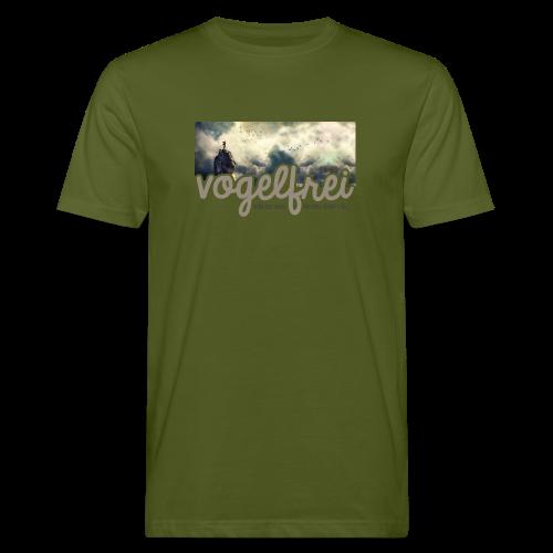 geweihbär Vogelfrei 3 - Männer Bio-T-Shirt